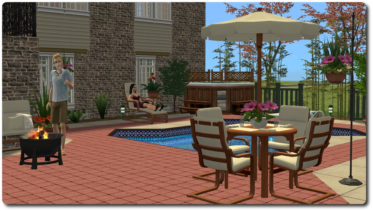Mod The Sims Patio and Garden Set A mixed bag of stuff for the outdoors