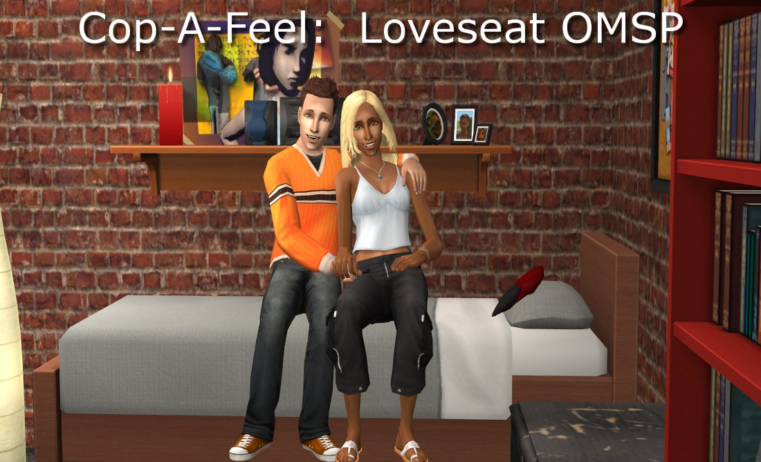 Mod The Sims Improved Cop A Feel Loveseat Omsp For Beds