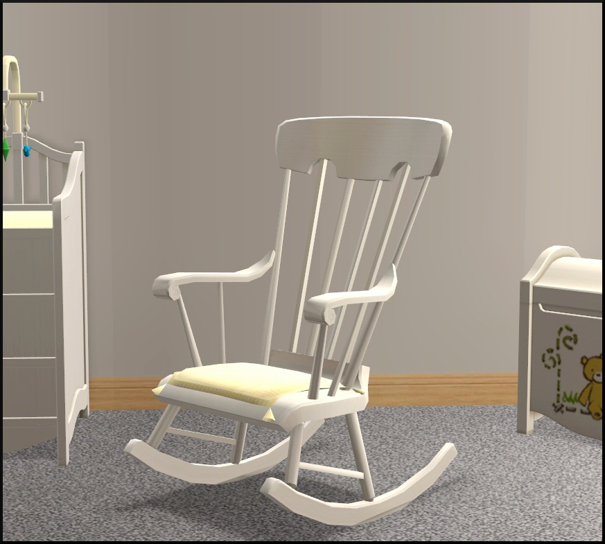 Mod The Sims Nursery Add Ons Ii A Rocking Chair And