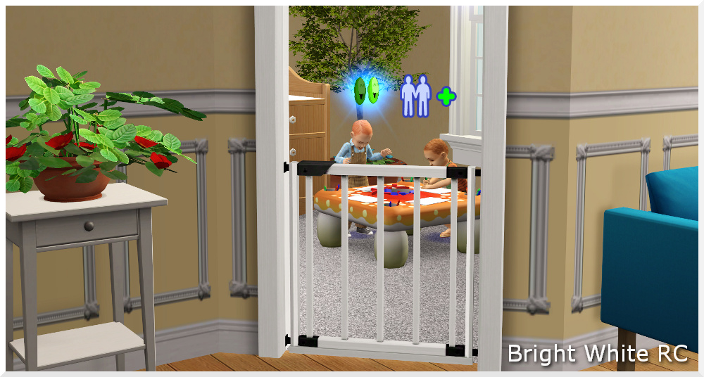 Groovy Mod The Sims Universal Baby Gate Contain Your Toddlers Largest Home Design Picture Inspirations Pitcheantrous