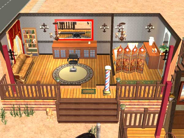 Mod The Sims Wild West Mall