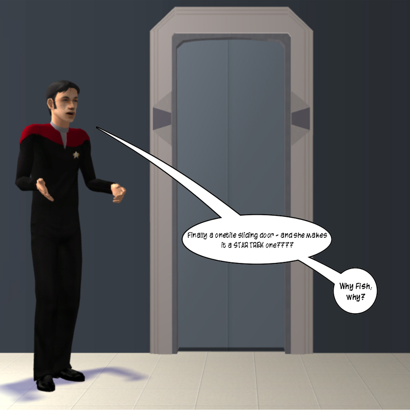 Mod The Sims Star Trek Sliding Door