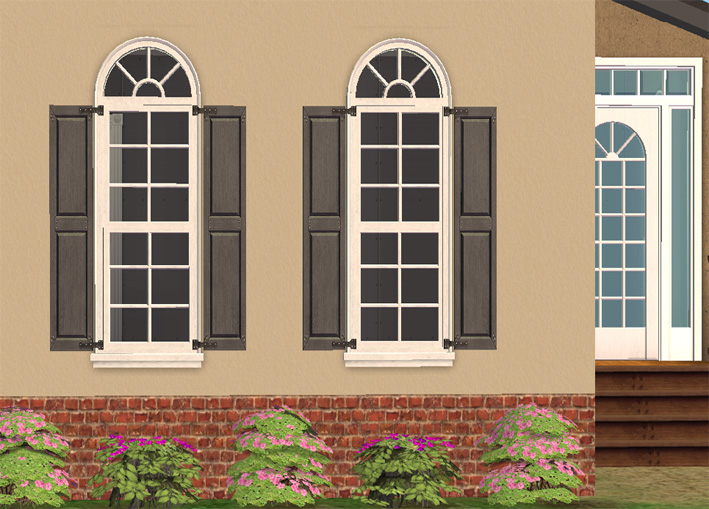 Mod the sims 1 tile la fen tre window with shutters for Fenetre windows