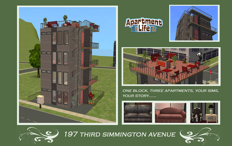 how to make an apartment in sims 2