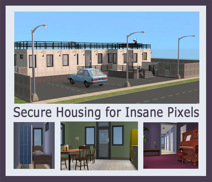 Sims  Asylum Building
