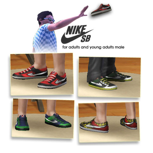 The For Male Sb Mod Nike Sneakers Sims Yaa KJclu13TF