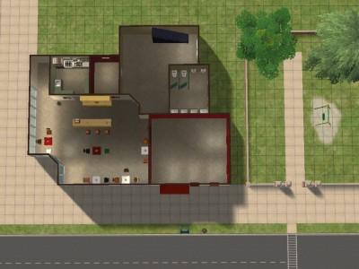 Mod The Sims Luke S Diner From Gilmore Girls