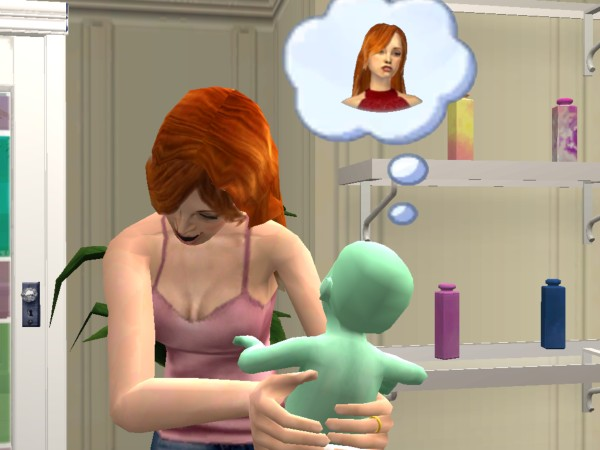 The sims 2 pregnant teen