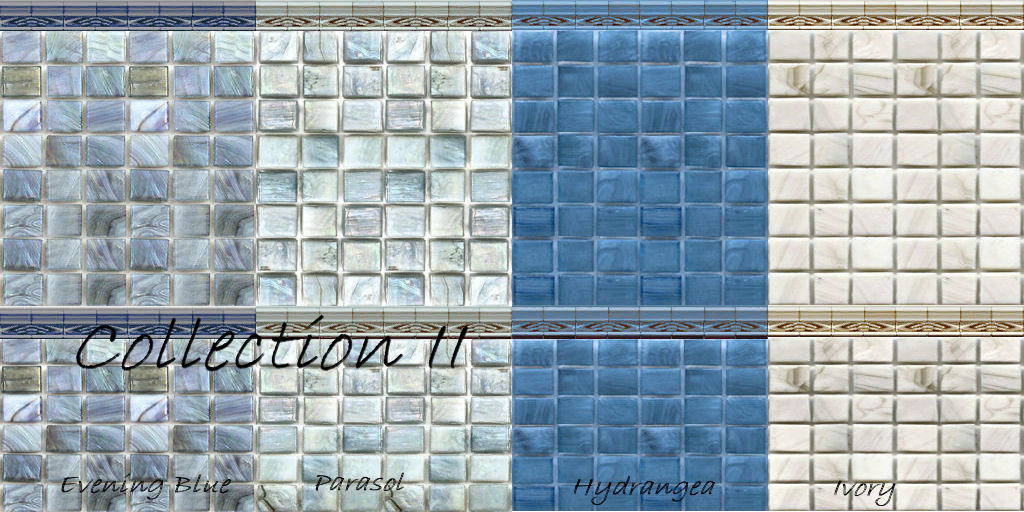 Mod The Sims - Mosaic Glass Tiles for Walls & Floors Full Tile Wall ...