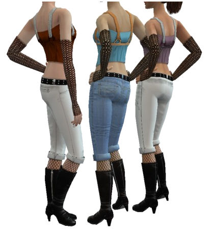 Mod the sims 3 new everyday clothing from apartment for Apartment clothing