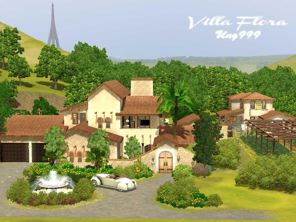 Mod The Sims - Villa Flora