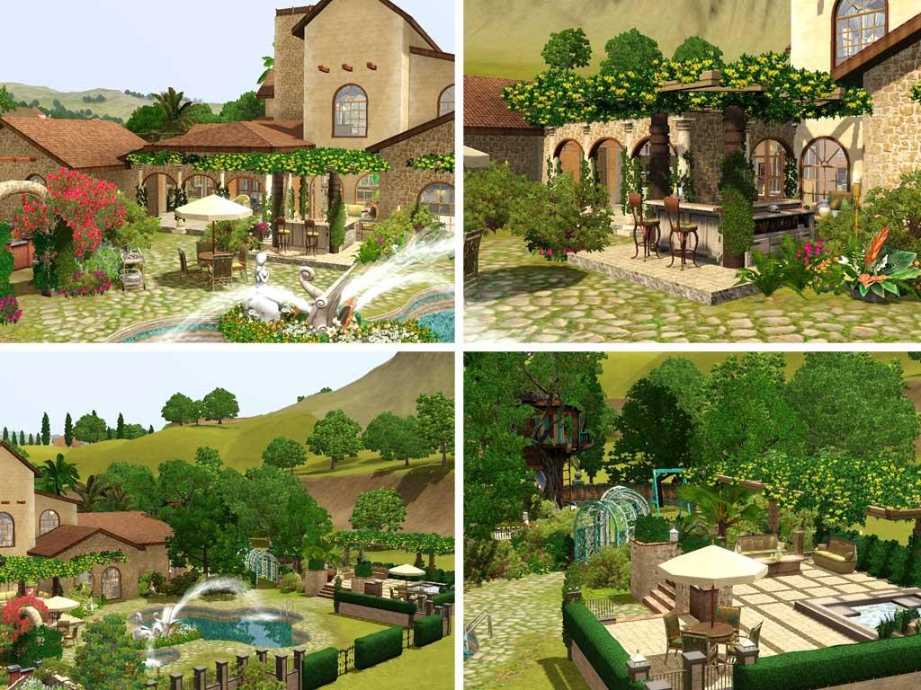 Mod The Sims Villa Flora