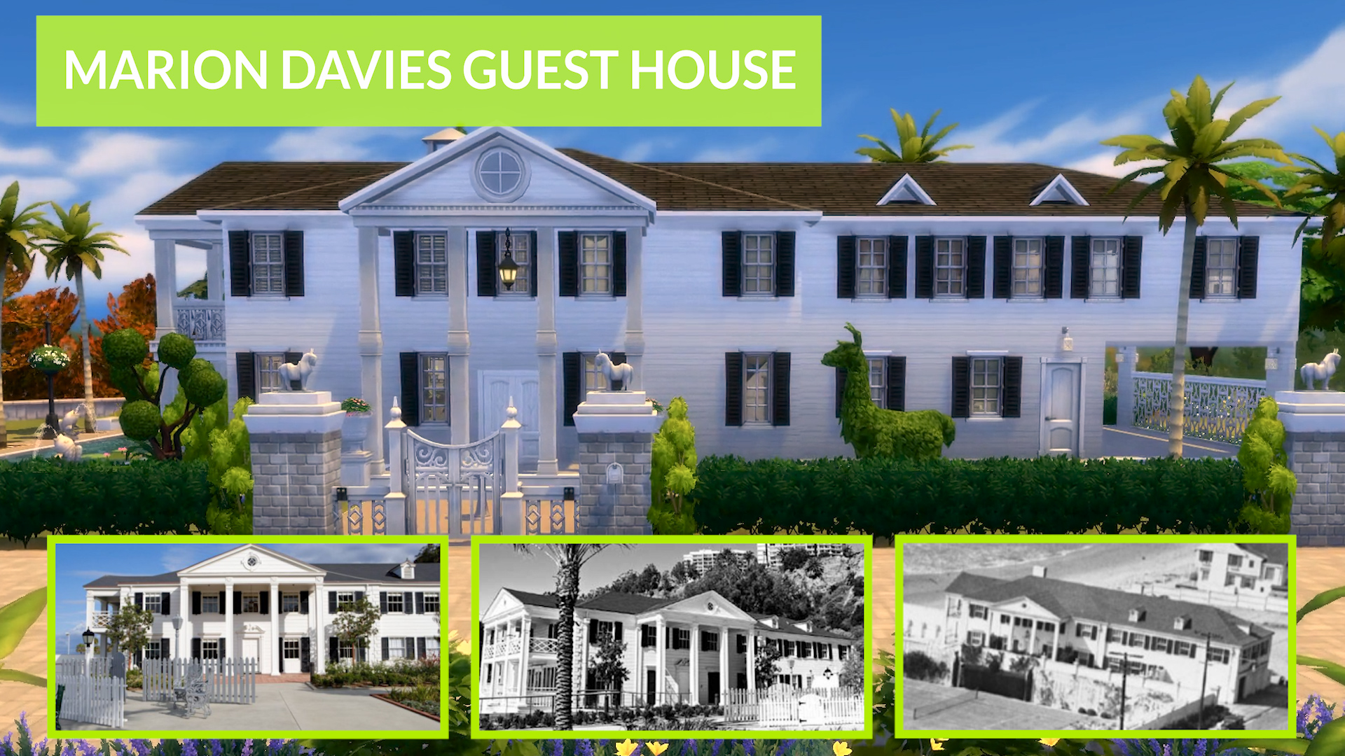 Tremendous Mod The Sims Marion Davies Guest House Ts4 Download Free Architecture Designs Viewormadebymaigaardcom