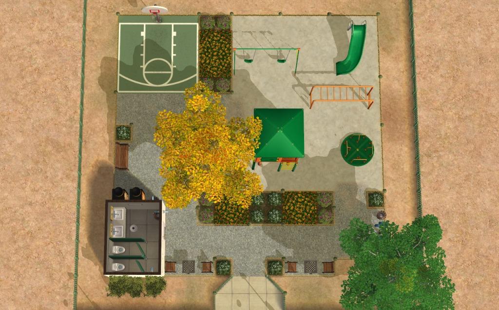 Mod The Sims Pequeo Playground Small Cc Free