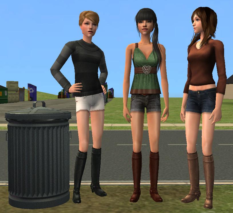 Girl boots teen bilson