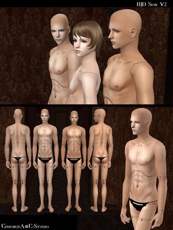 Sims 2 adult skin for that