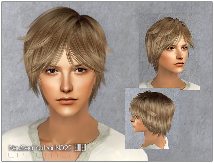 Mod The Sims Coolsims Male Hair 27 Peggy Free Hair