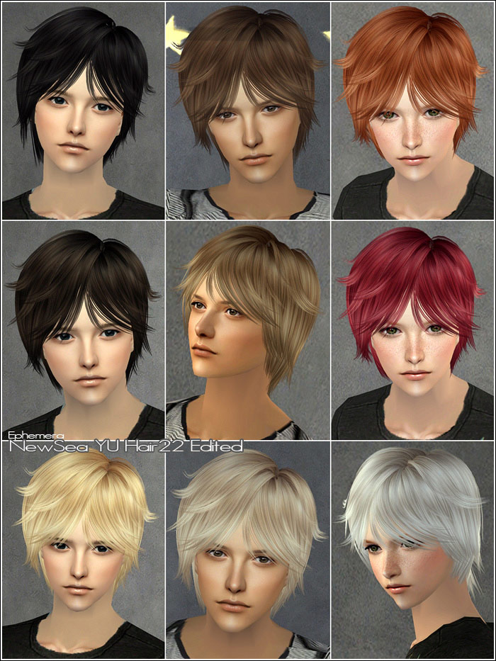 download hairstyles sims 2