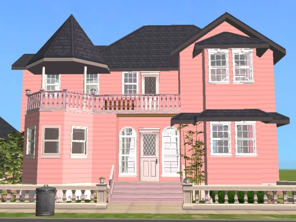 Mod the sims for sale the barbie dream house for Dream house inspiration