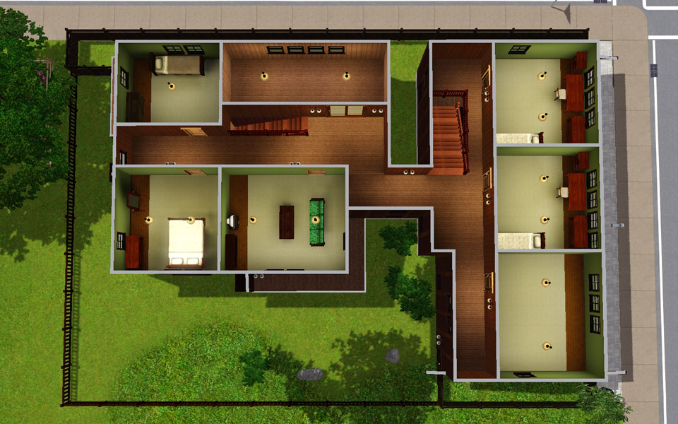 Japanese Style Home Magnificent Mod The Sims  Japanese Style House 13