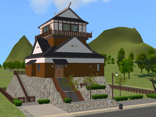 sims 2 japanese fortress - photo #26