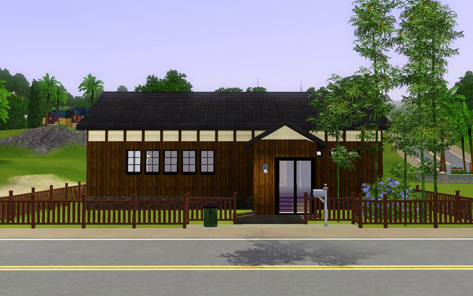 Japanese Style Home mod the sims - japanese style house #7