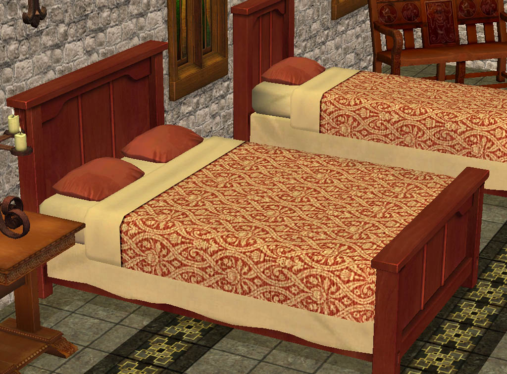 mod the sims medieval bedding