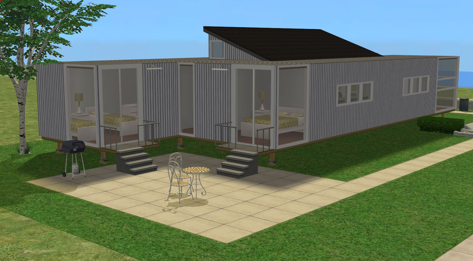 Mod the sims containers of hope - Containers of hope ...