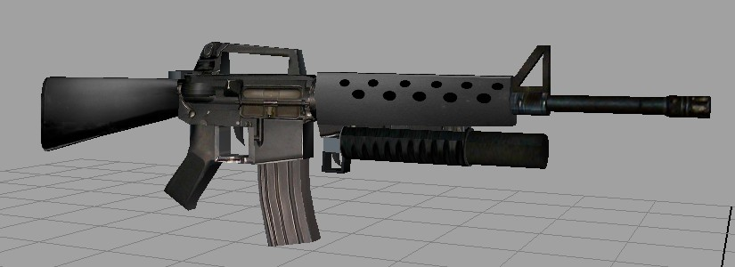 Mod The Sims - M16 wit...
