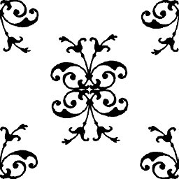 mod the sims simple filigree pattern