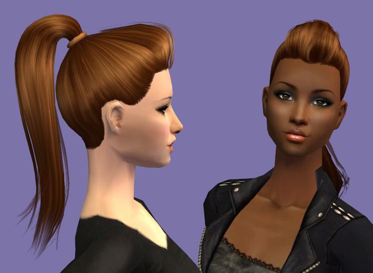 Výsledek obrázku pro the sims 2 ponytail
