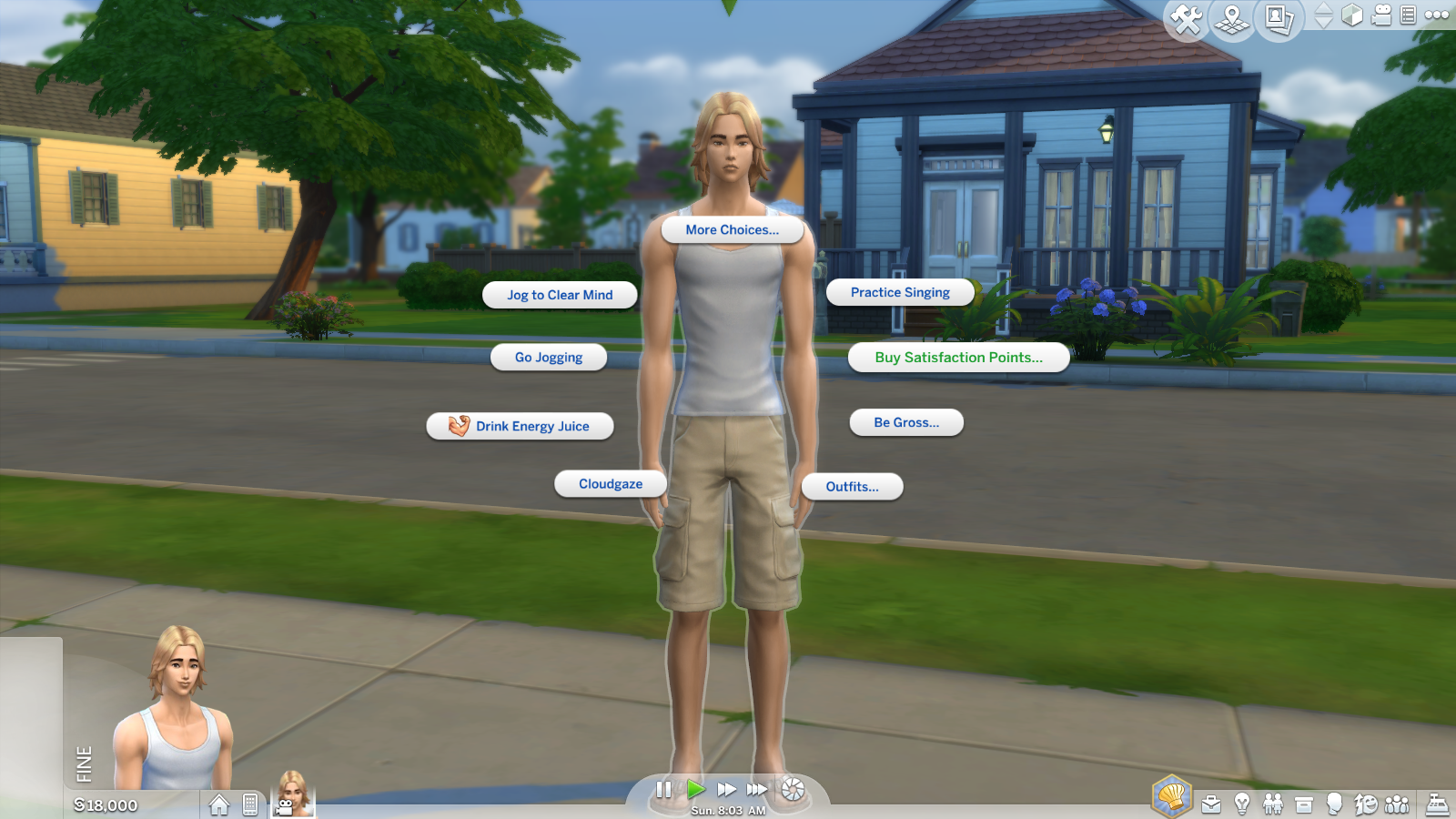 sims 4 give aspiration points