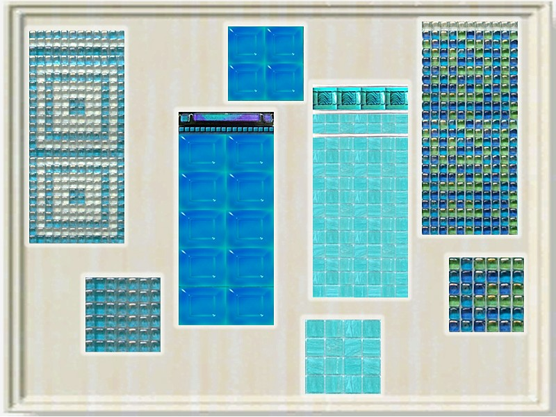 Mod the sims a new set of swimming pool walls and floors for Pool design sims 3