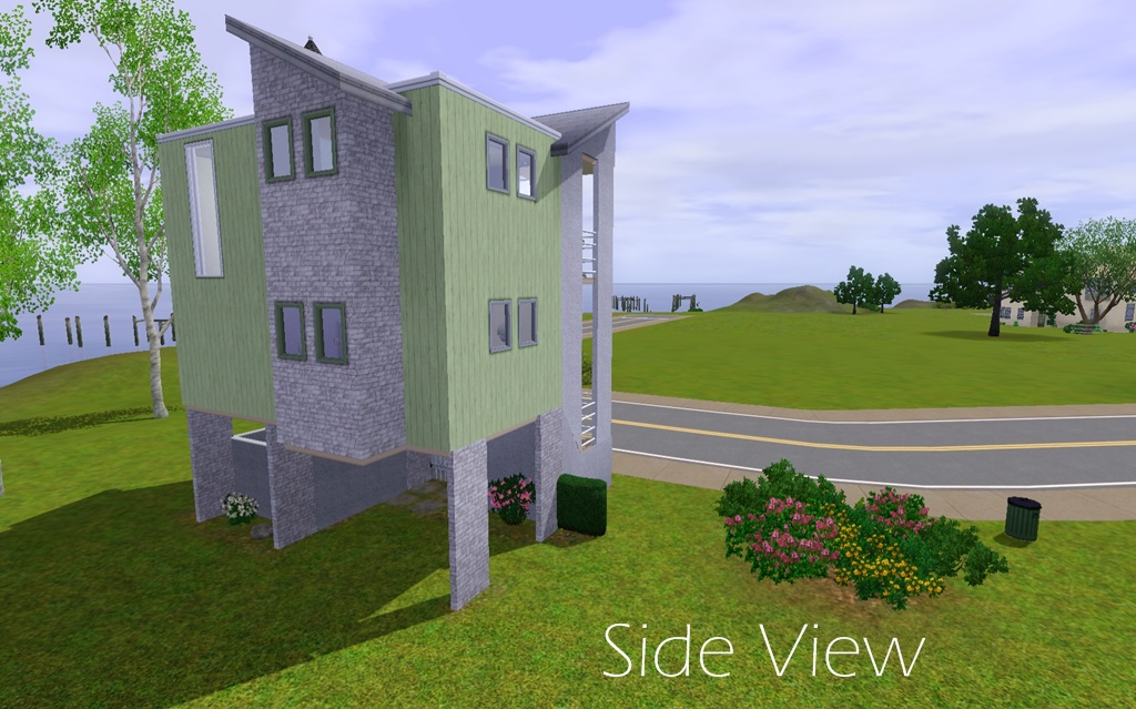 Boolprop Floor Elevation Cheat : Mod the sims nest townhome
