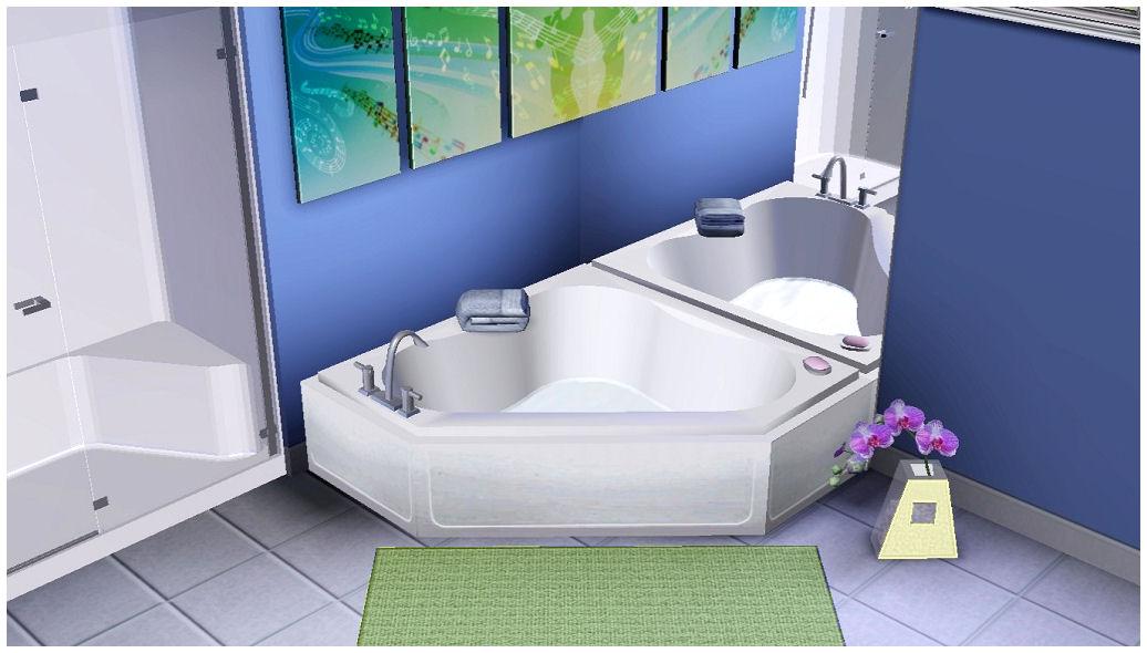 Mod The Sims Homespa Bathroom Collection One