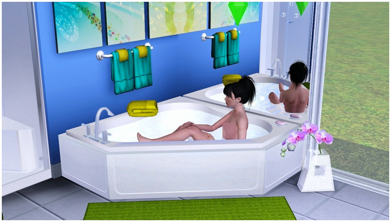 Mod The Sims - HomeSpa Bathroom Collection One