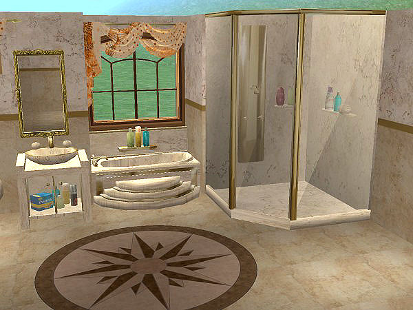 Mod The Sims Eris3000 S Luxurious Glass Shower