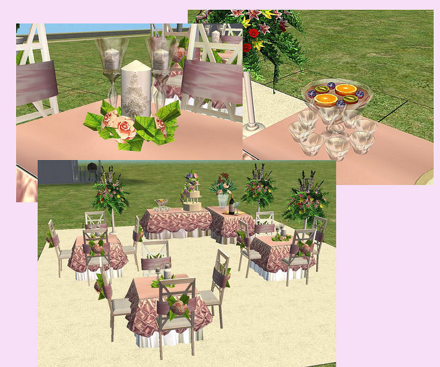 Wedding Altar Sims 2: It's Your Day! New Wedding Collection