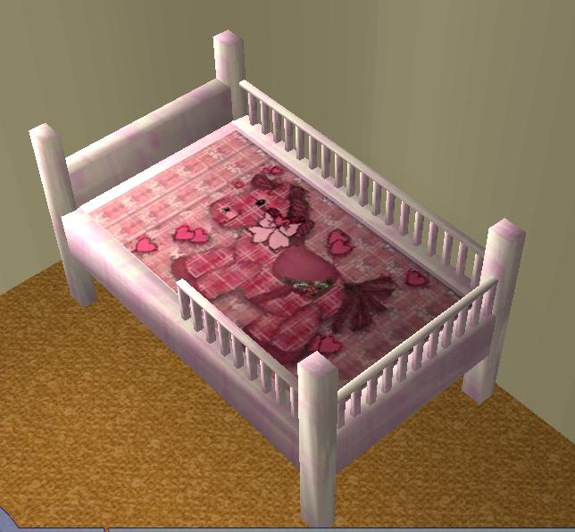 Mod The Sims Toddler Bed Updated With Bars