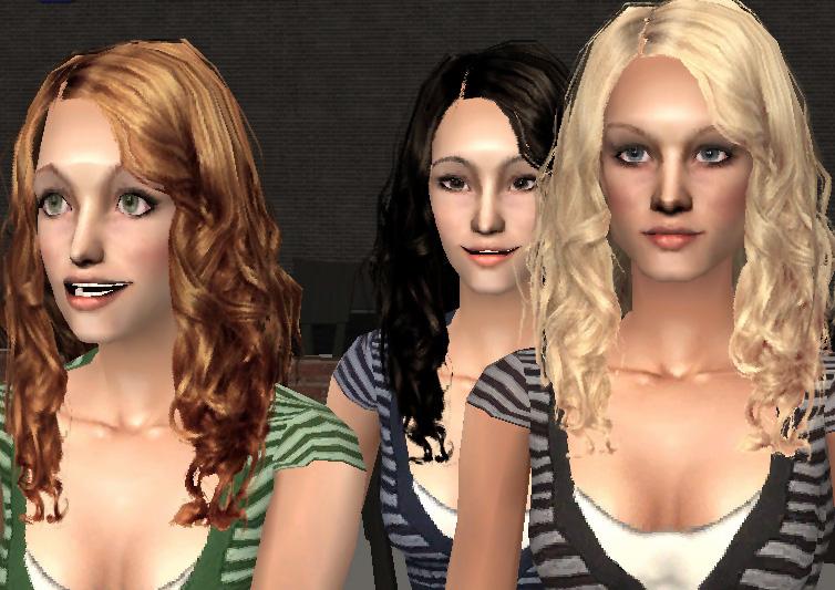 Výsledek obrázku pro the sims 2 hair