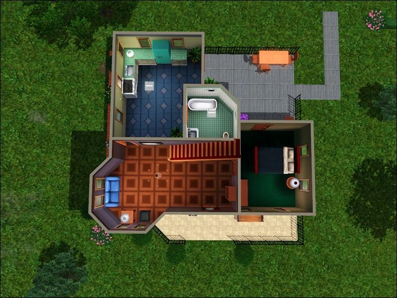403834 on Sims 3 House Floor Plans
