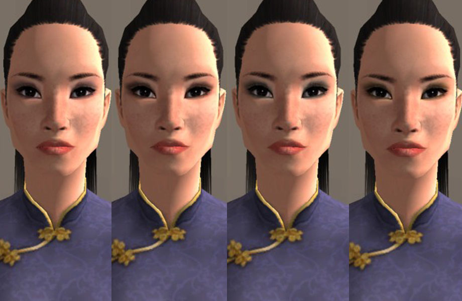 Mod The Sims Requested Subtle Eye Makeup For Asians