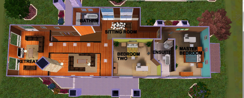 Mod The Sims The Chocolate Designs A Warm Modern 2