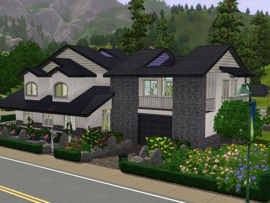 Mod The Sims 1 Lloyd Hills Suburban House With No Cc