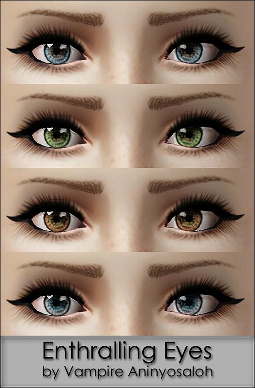 Mod The Sims - Enthralling Eyes -non default-