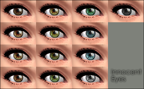 Mod The Sims - Innocent Eyes -default replacement-