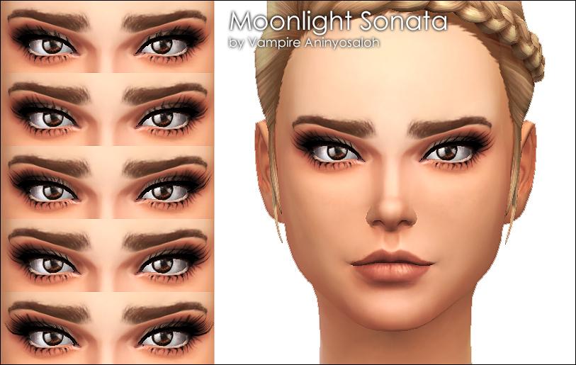 Mod The Sims - Moonlight Sonata -5 mascaras-