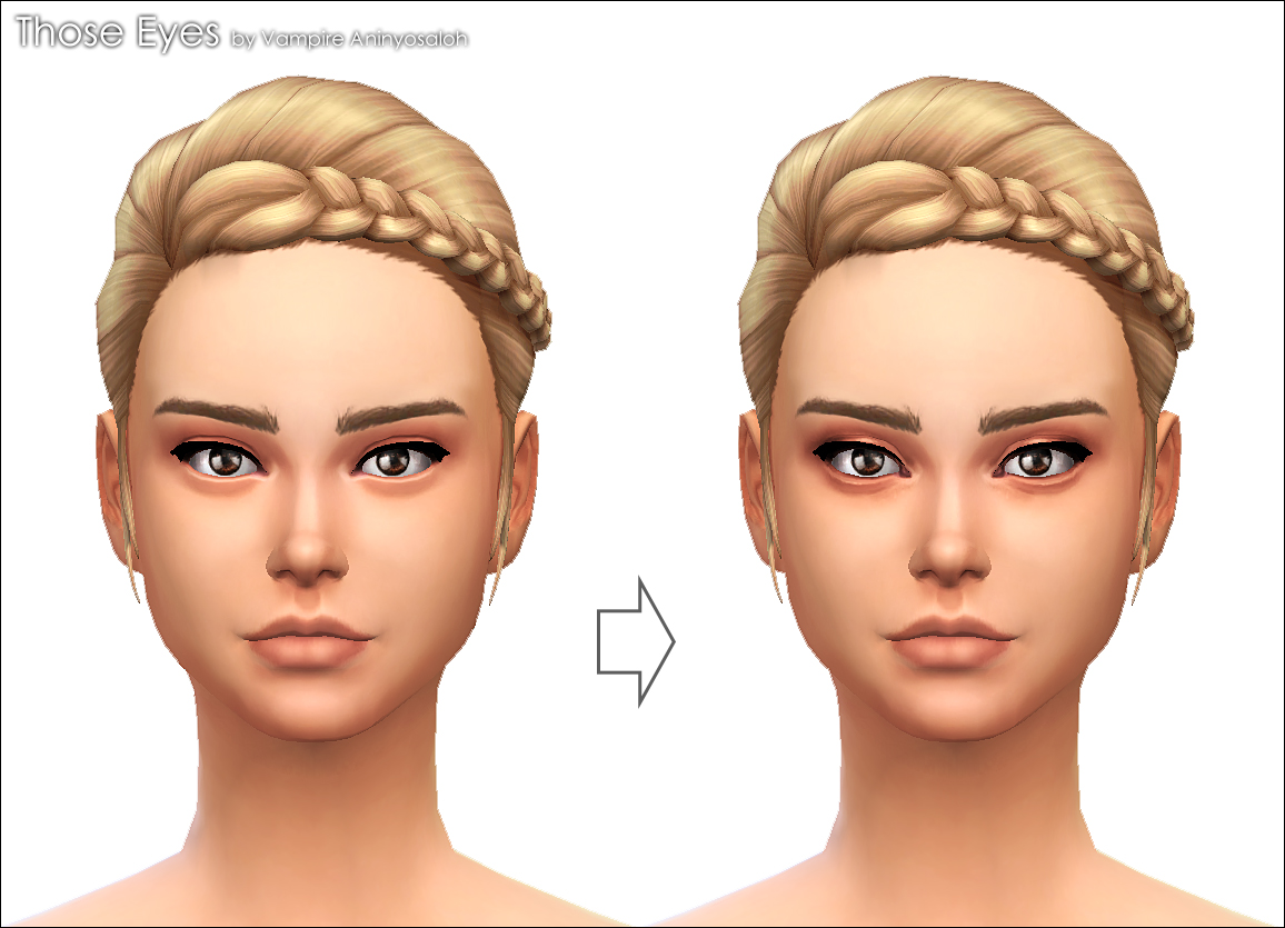 Mod The Sims - Those Eyes -eye contour-