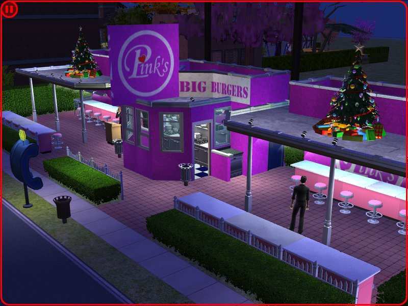 Mod The Sims Pink S Big Burgers
