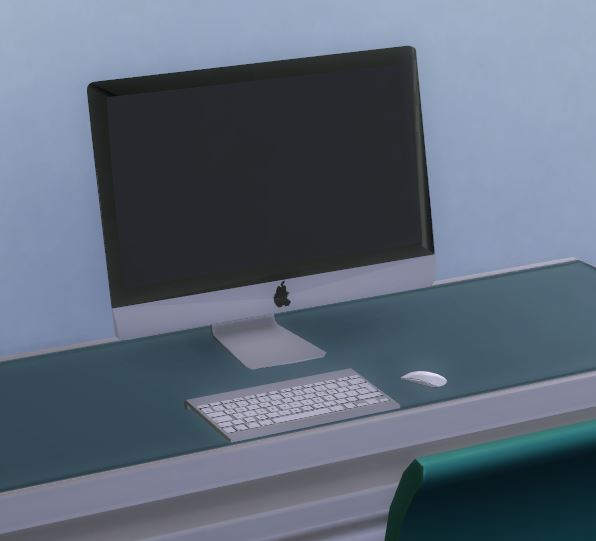 mod the sims pear simmac apple imac. Black Bedroom Furniture Sets. Home Design Ideas